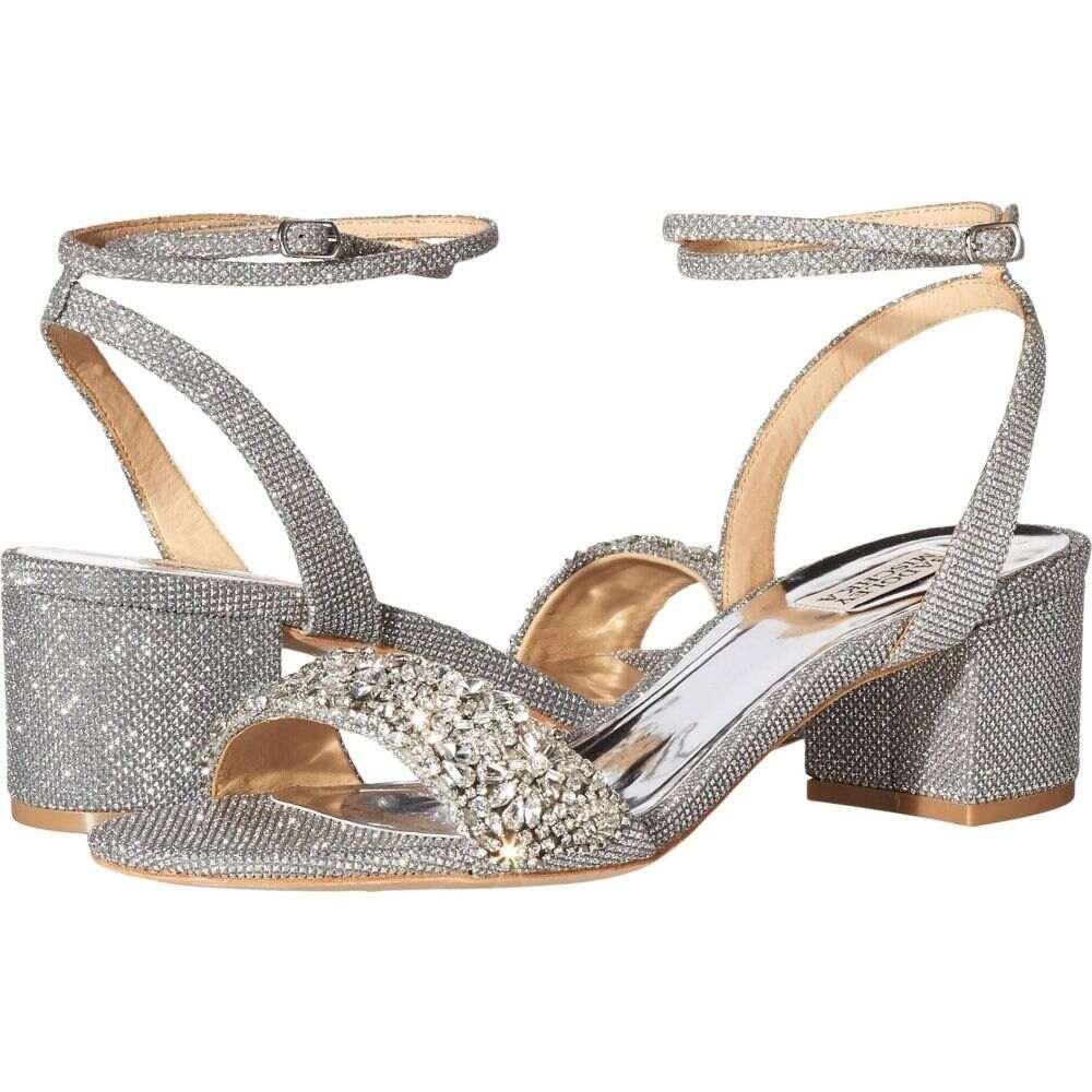 バッジェリー ミシュカ Badgley Mischka レディース サンダル・ミュール シューズ・靴【Jada】Silver