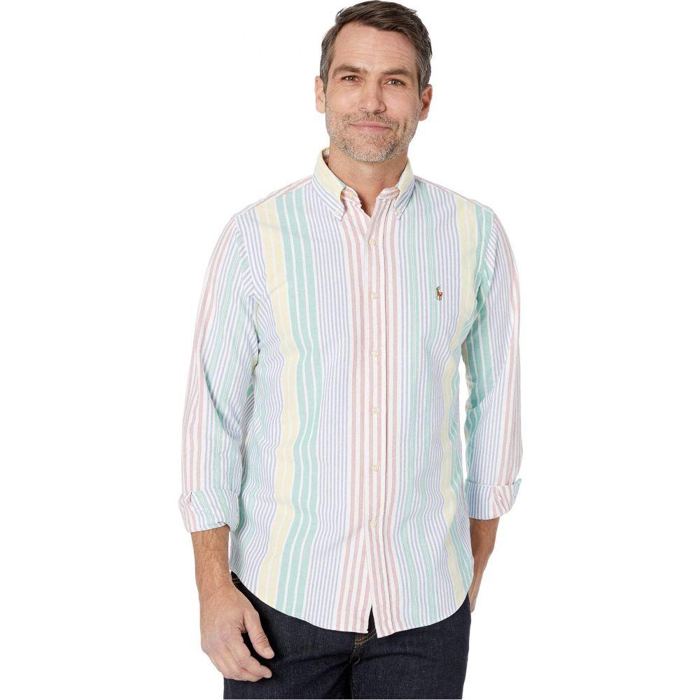 ラルフ ローレン Polo Ralph Lauren メンズ シャツ トップス【Classic Fit Oxford Shirt】Red/Blue/Yellow Multi