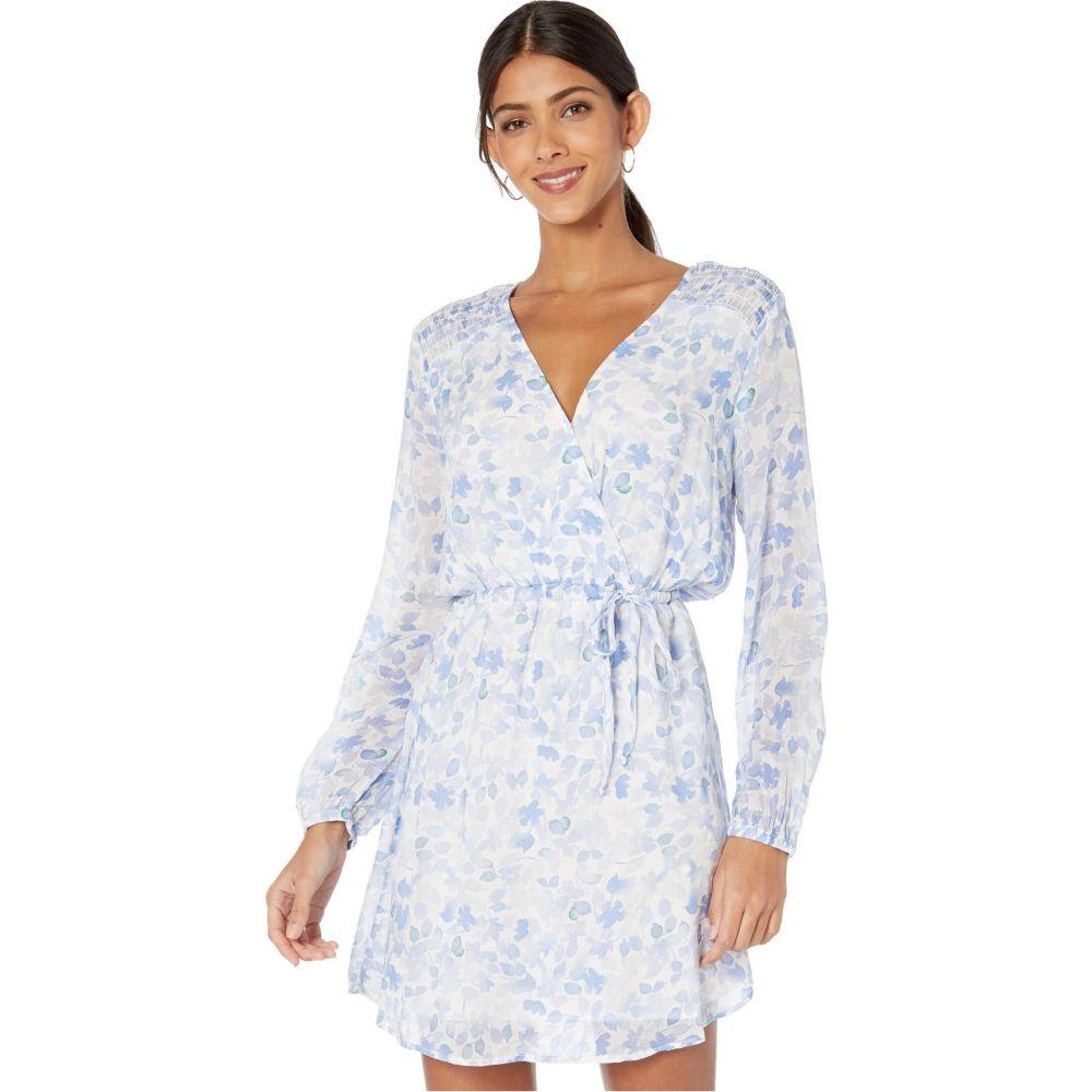 ベラ ダール bella dahl レディース ワンピース ワンピース・ドレス【Smocked Yoke Cross Front Dress】Malibu Blue