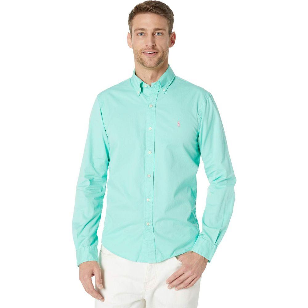 ラルフ ローレン Polo Ralph Lauren メンズ シャツ トップス【Garment Dyed Chino Shirt】Soft Jade