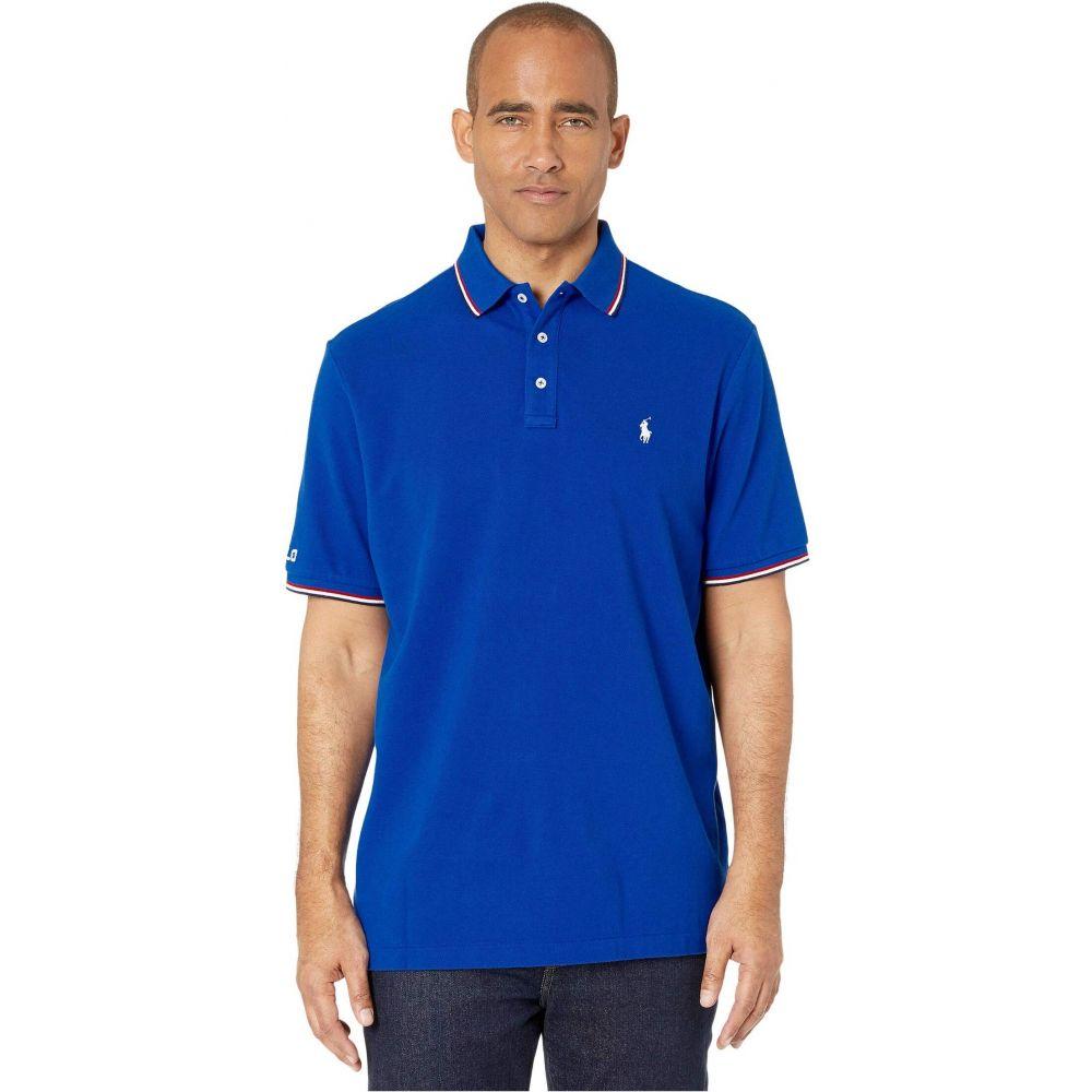 ラルフ ローレン Polo Ralph Lauren メンズ ポロシャツ トップス【Classic Fit Mesh Polo】Blue