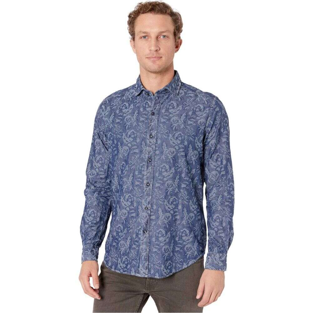 ロバートグラハム Robert Graham メンズ シャツ トップス【Waynes Button-Up Shirt】Indigo