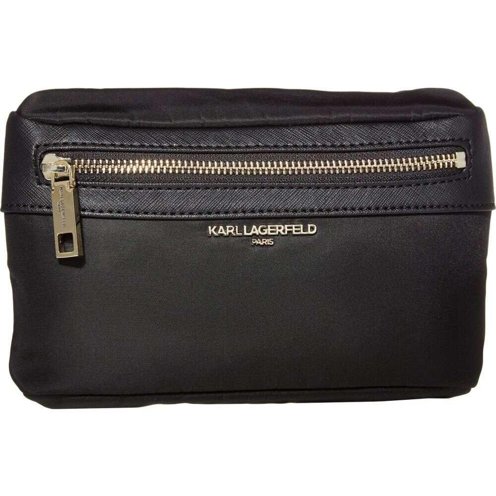 カール ラガーフェルド Karl Lagerfeld Paris レディース ショルダーバッグ バッグ【Cara Crossbody】Black/Gold