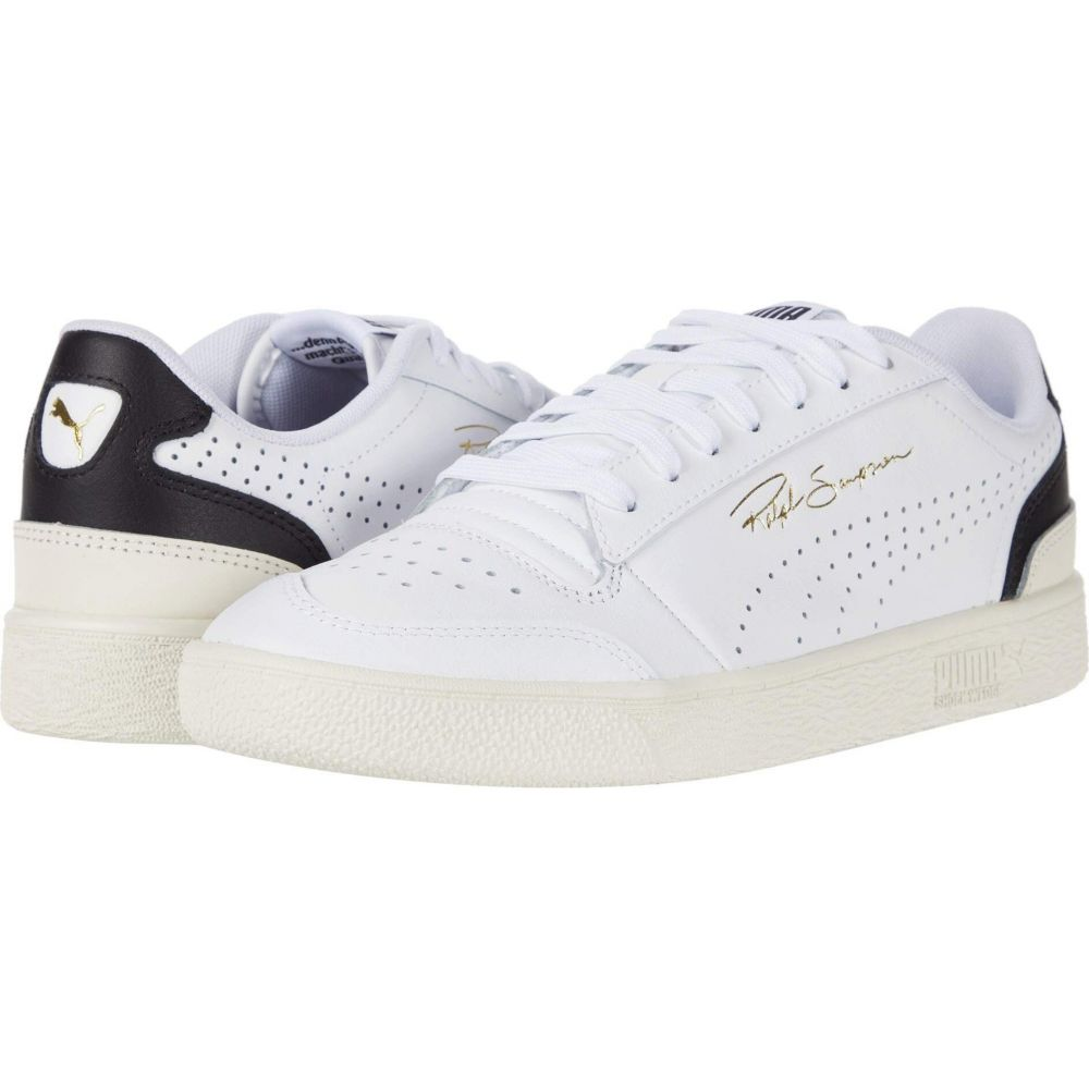 プーマ PUMA メンズ スニーカー シューズ・靴【Ralph Sampson Lo Perf Soft】Puma White/Puma Black/Whisper White