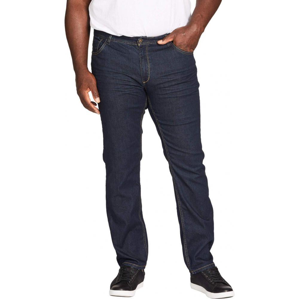 ジョニー ビッグ Johnny Bigg メンズ ジーンズ・デニム 大きいサイズ ボトムス・パンツ【Big & Tall Easton Raw Slim Jeans】Ink
