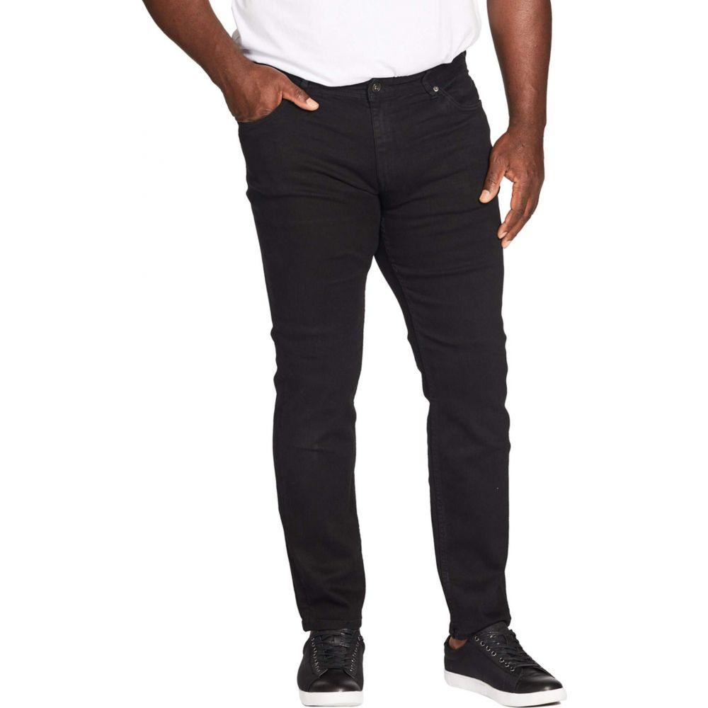 ジョニー ビッグ Johnny Bigg メンズ ジーンズ・デニム 大きいサイズ ボトムス・パンツ【Big & Tall Hunter Superflex Slim Denim】Black
