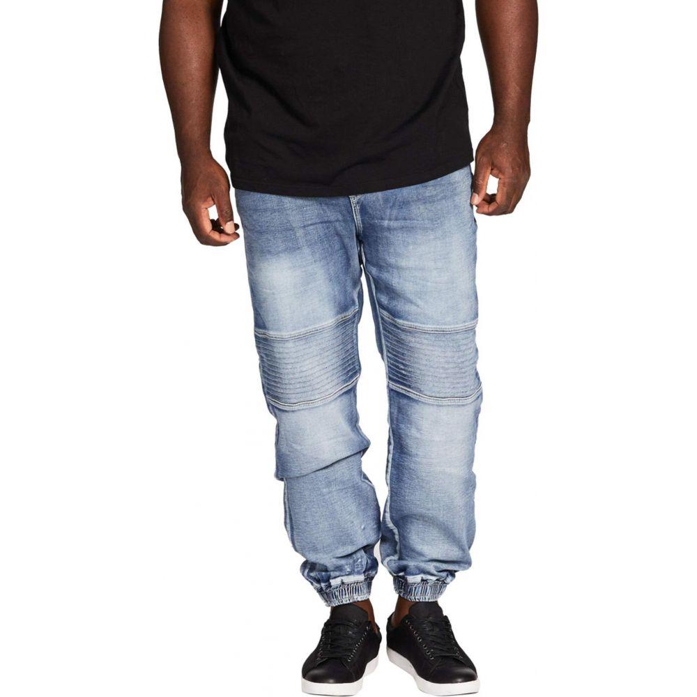 ジョニー ビッグ Johnny Bigg メンズ ジーンズ・デニム 大きいサイズ ボトムス・パンツ【Big & Tall Marlee Stretch Knit Cuff Jeans】Sky
