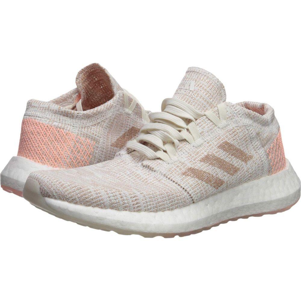 アディダス adidas レディース ランニング・ウォーキング シューズ・靴【Pureboost Go】Cloud White/Ash Pearl/Cloud White