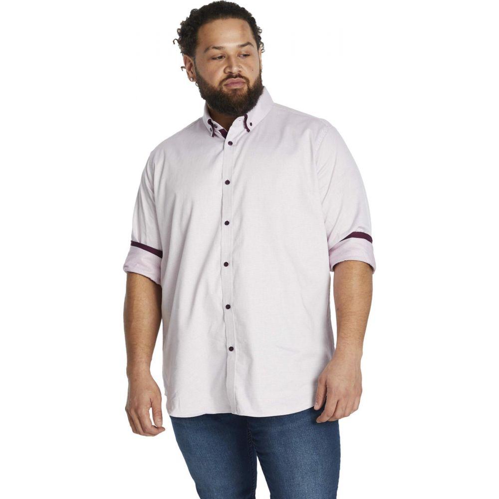 ジョニー ビッグ Johnny Bigg メンズ シャツ 大きいサイズ トップス【Big & Tall Marlon Jacquard Shirt】Pink
