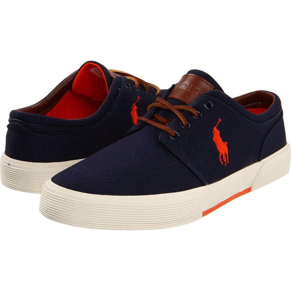 ラルフ ローレン Polo Ralph Lauren メンズ スニーカー シューズ・靴【Faxon Low】Navy