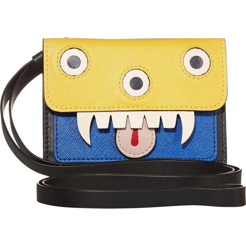 マルニ MARNI メンズ カードケース・名刺入れ 【Monster Case】Yellow/Blue/Black