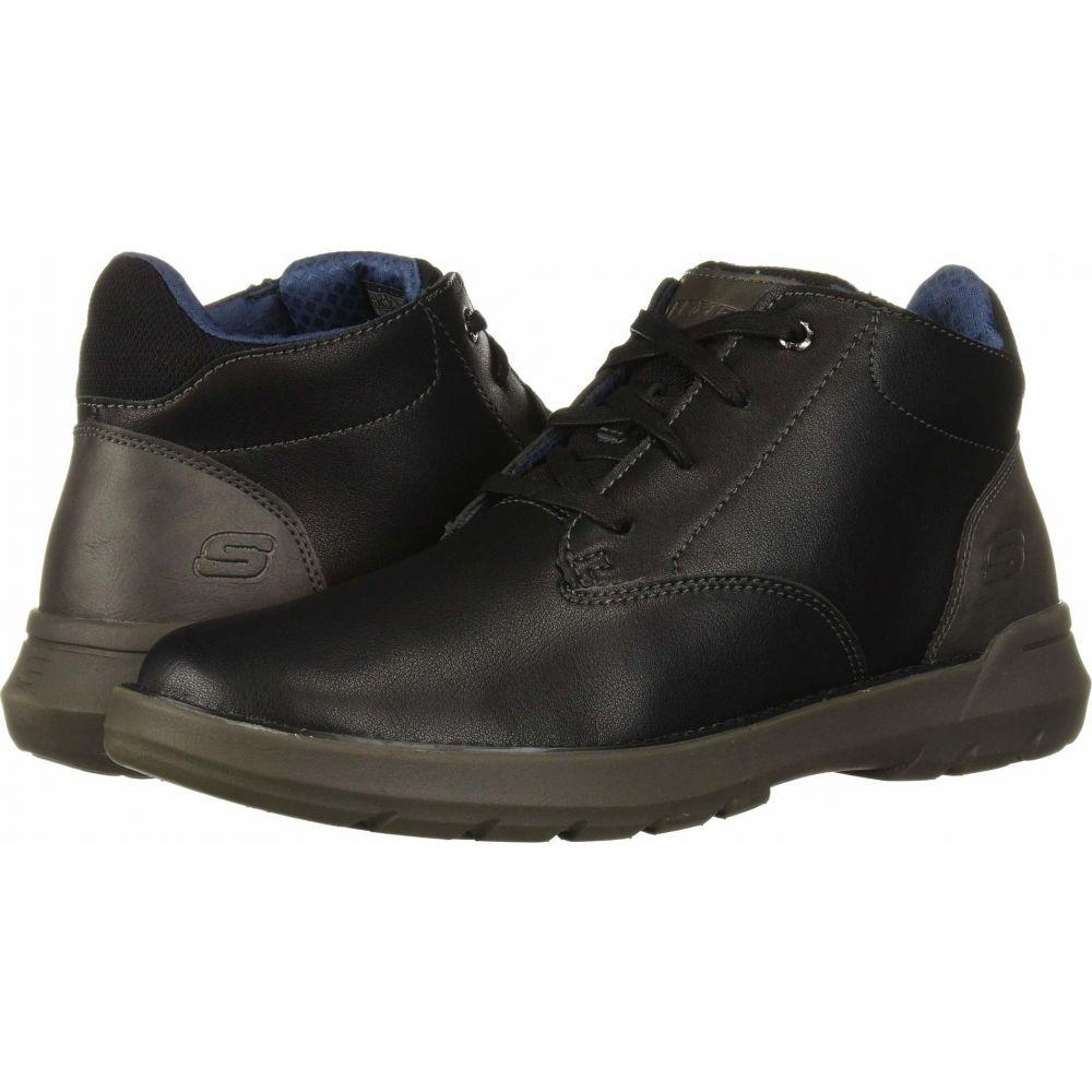 スケッチャーズ SKECHERS メンズ ブーツ シューズ・靴【Relaxed Fit Doveno - Molens】Black