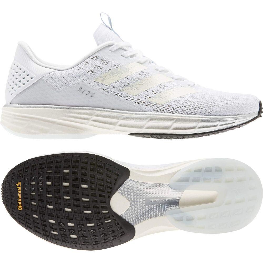 アディダス adidas Running メンズ ランニング・ウォーキング シューズ・靴【SL20 Ready】White/White/Sky Tint