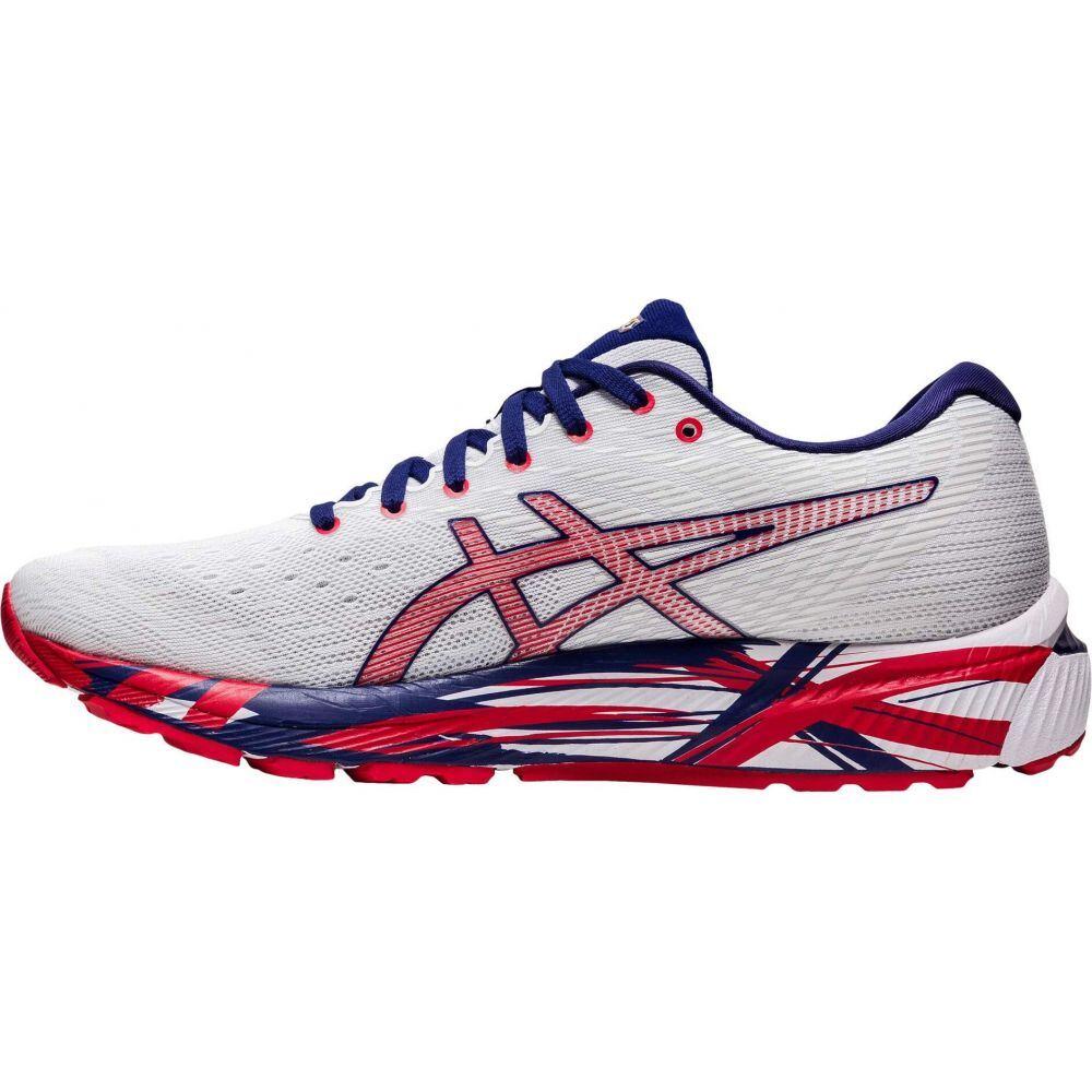 アシックス ASICS メンズ ランニング・ウォーキング シューズ・靴【GEL-Cumulus 22】White/Classic Red