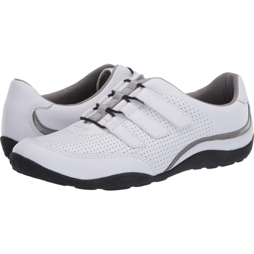 クラークス Clarks レディース スニーカー シューズ・靴【Haley Gem】White Leather