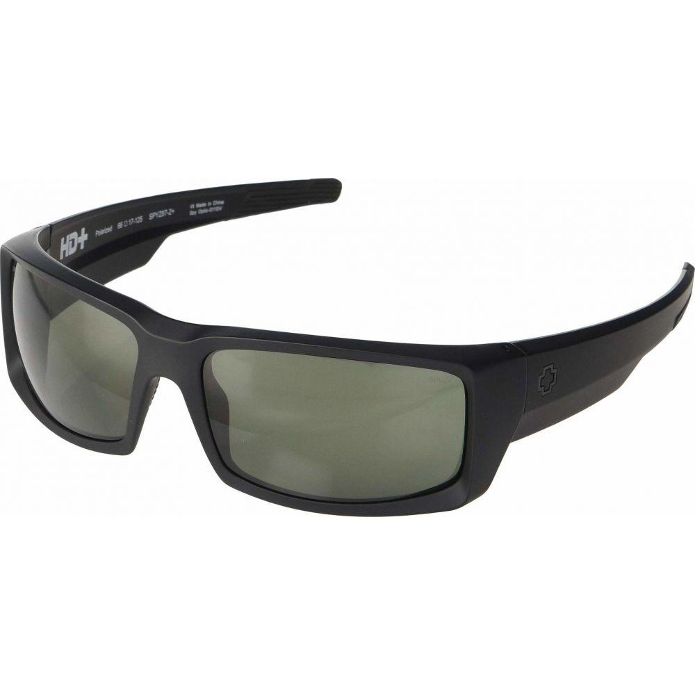 スパイ Spy Optic レディース メガネ・サングラス 【General】Matte Black Ansi RX/HD Plus Gray/Green Polar