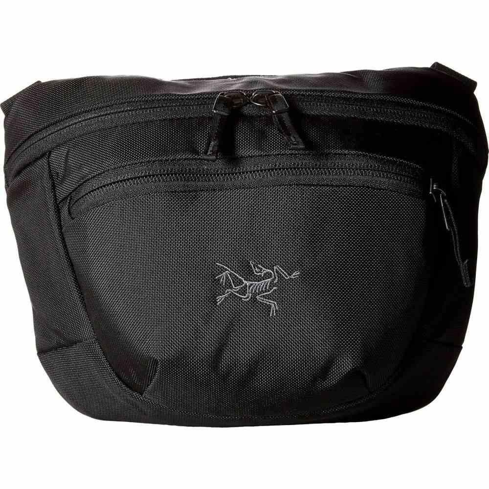 アークテリクス Arc'teryx レディース ボディバッグ・ウエストポーチ ウエストバッグ バッグ【Maka 2 Waistpack】Black
