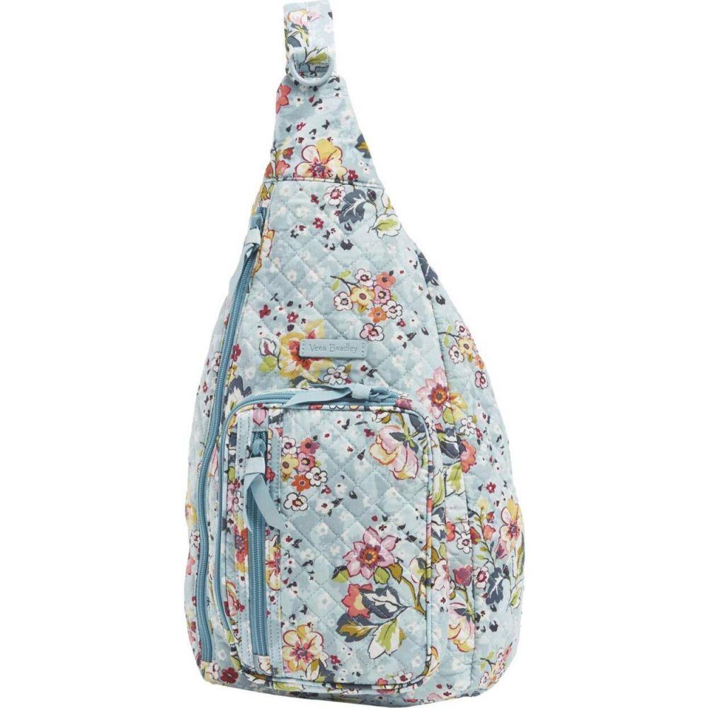 ヴェラ ブラッドリー Vera Bradley レディース バックパック・リュック バッグ【Iconic Sling Backpack】Floating Garden