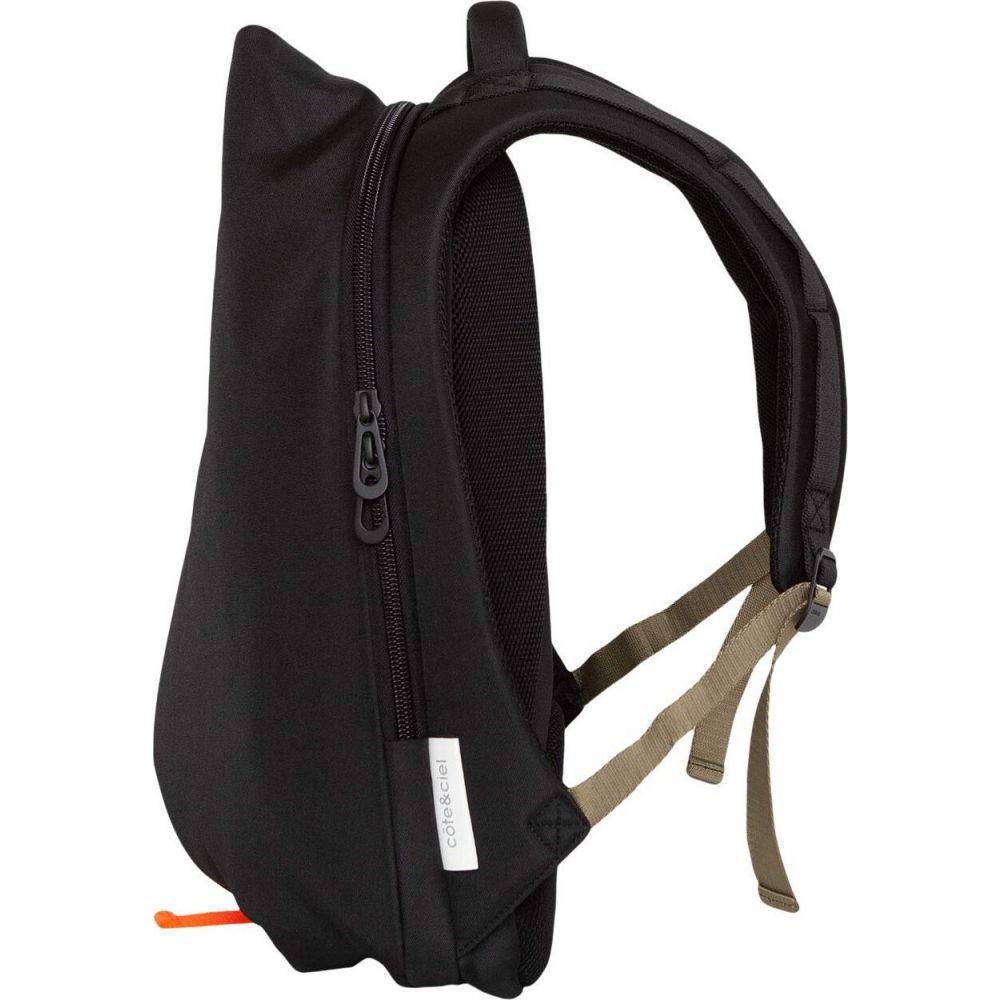 コート エ シエル cote&ciel レディース バックパック・リュック バッグ【Isar Medium Backpack】Black Smooth
