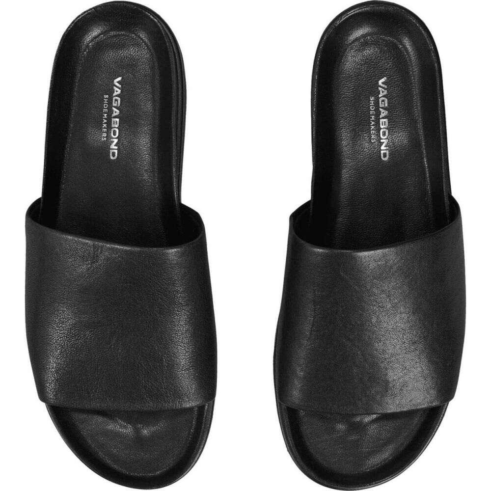 ヴァガボンド Vagabond Shoemakers レディース サンダル・ミュール シューズ・靴【Erin Slide】Black
