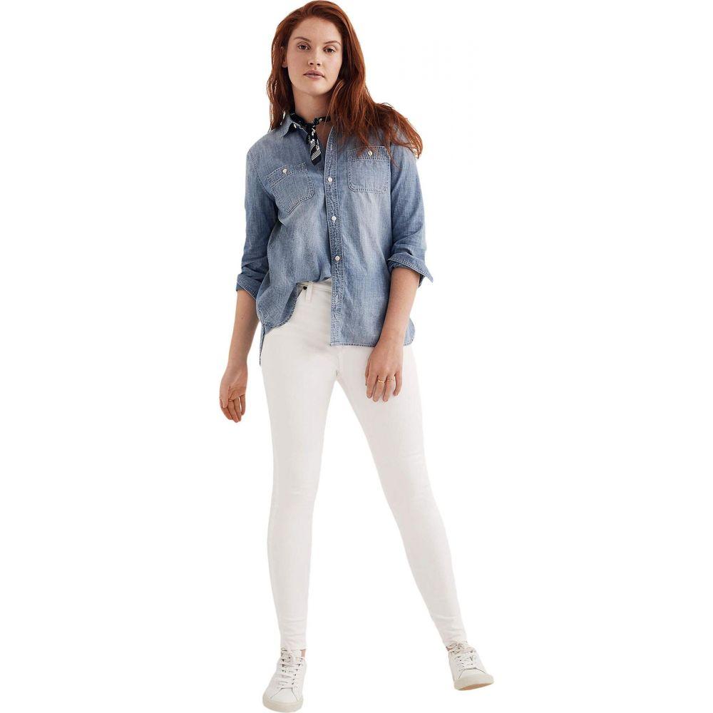 メイドウェル Madewell レディース ジーンズ・デニム ボトムス・パンツ【9' Mid-Rise Skinny in Pure White】Pure White