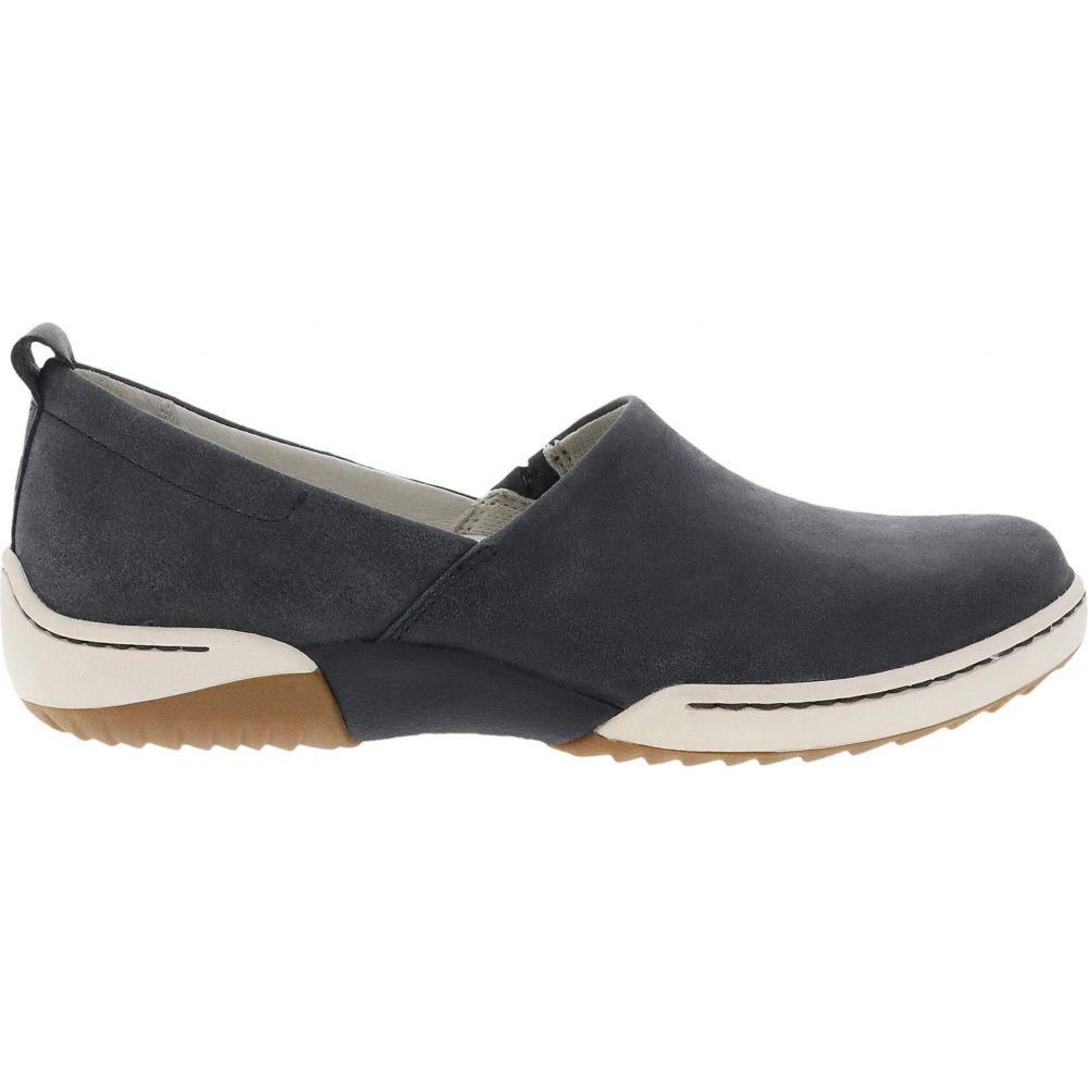 ダンスコ Dansko レディース ローファー・オックスフォード シューズ・靴【Reba】Black Vintage Nappa