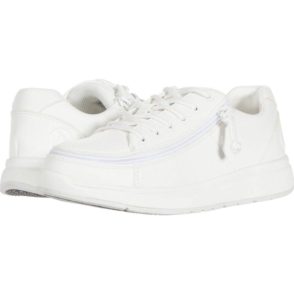 ビリーフットウェア BILLY Footwear レディース スニーカー シューズ・靴【Work Comfort Lo】White/White