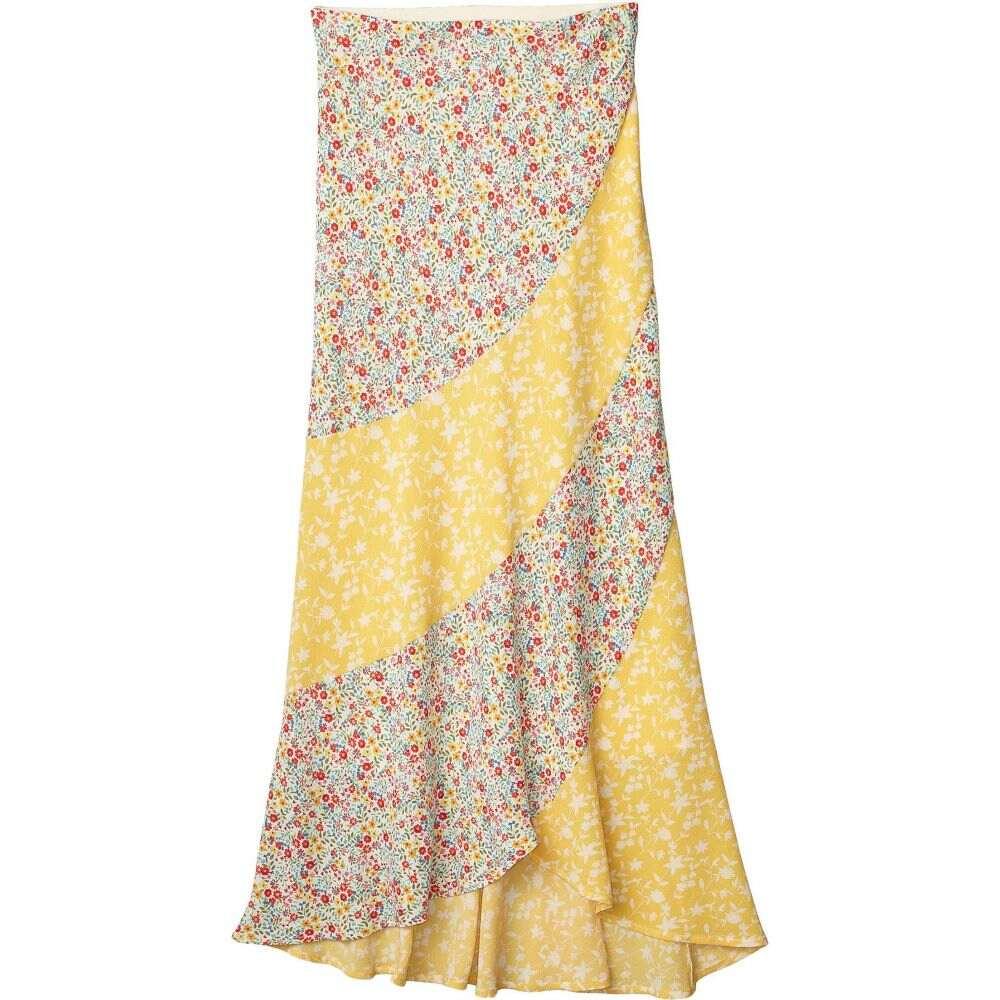 ビービーダコタ BB Dakota レディース スカート 【All Mixed Up Printed Bubble Crepe Skirt】Lemon Drop