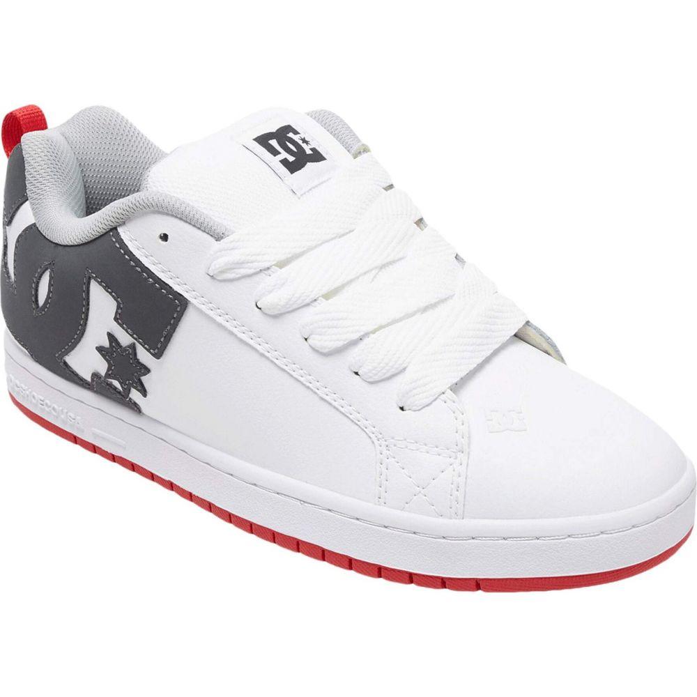 ディーシー DC メンズ スニーカー シューズ・靴【Court Graffik】White/Grey/Red