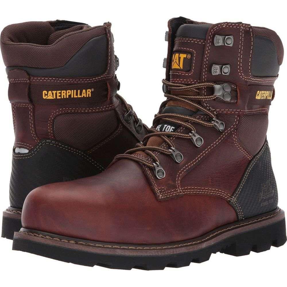 キャピタラー カジュアル Caterpillar メンズ ブーツ シューズ・靴【Indiana 2.0 Steel Toe】Brown
