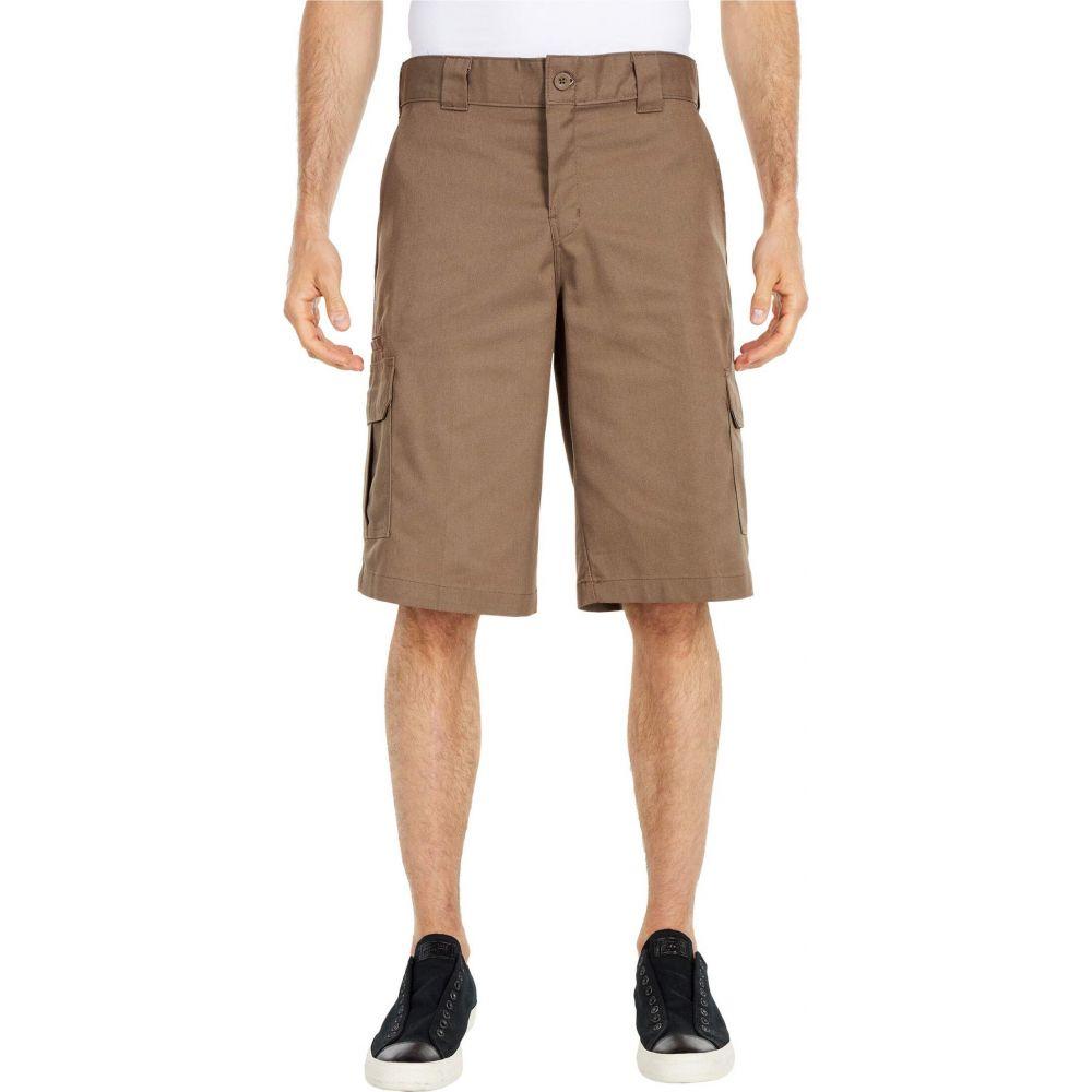 ディッキーズ Dickies メンズ ショートパンツ カーゴ ボトムス・パンツ【13' Relaxed Fit Mechanical Stretch Cargo Shorts】Mushroom