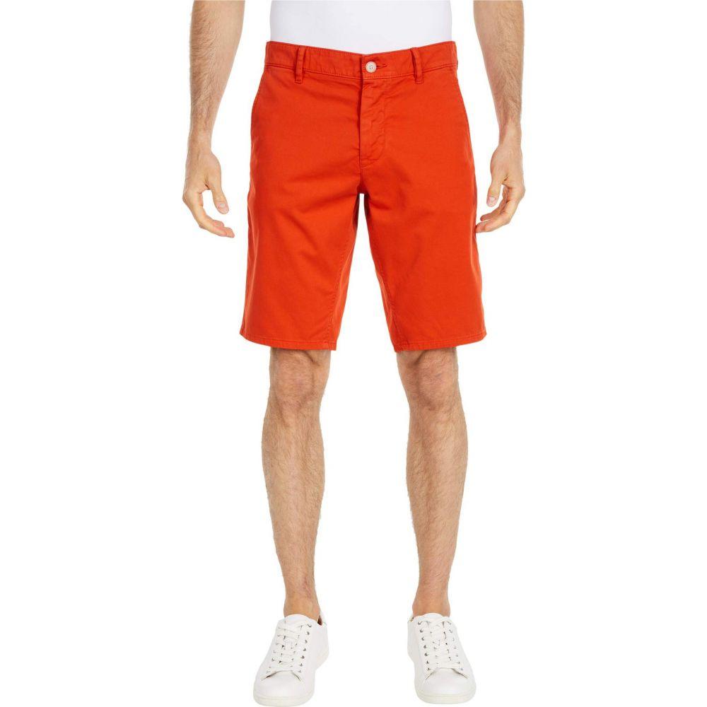 ヒューゴ ボス BOSS Hugo Boss メンズ ショートパンツ ボトムス・パンツ【Regular Fit Satin Stretch Shorts】Dark Orange