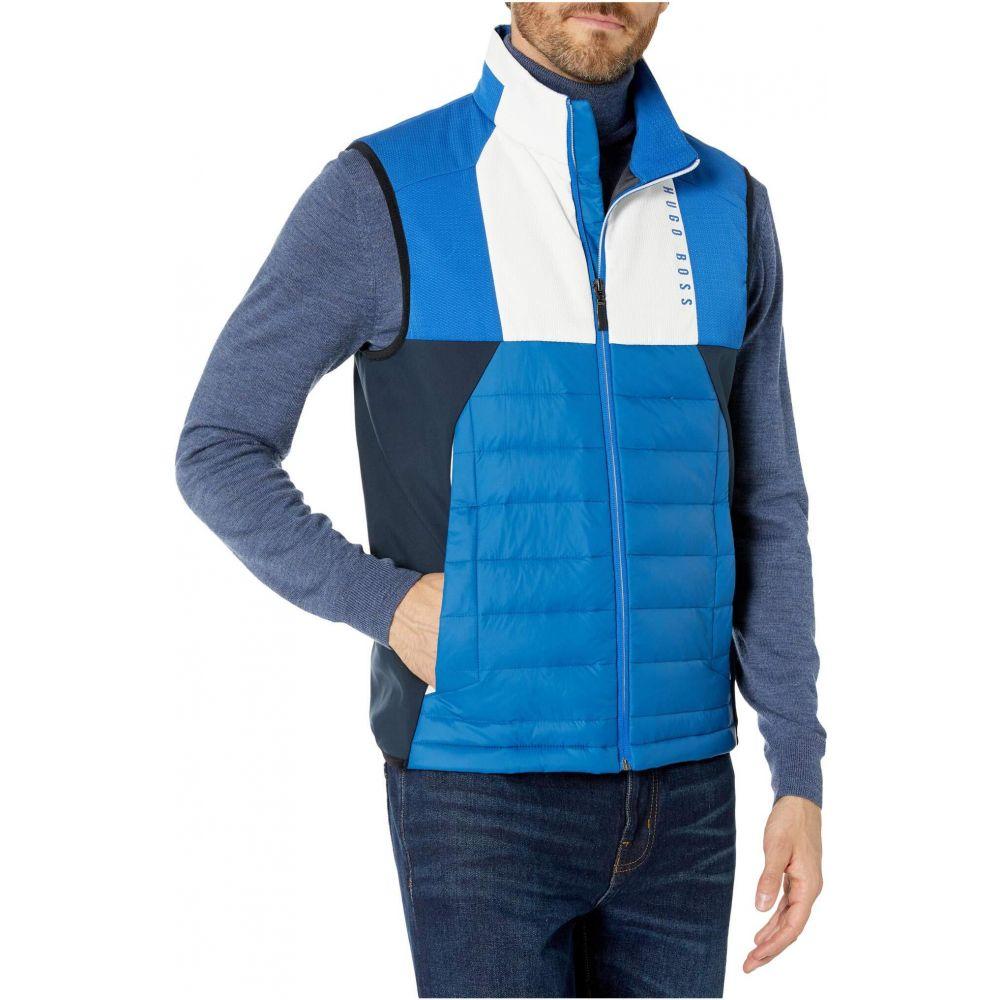 ヒューゴ ボス BOSS Hugo Boss メンズ ベスト・ジレ トップス【V Paros Vest】Bright Blue