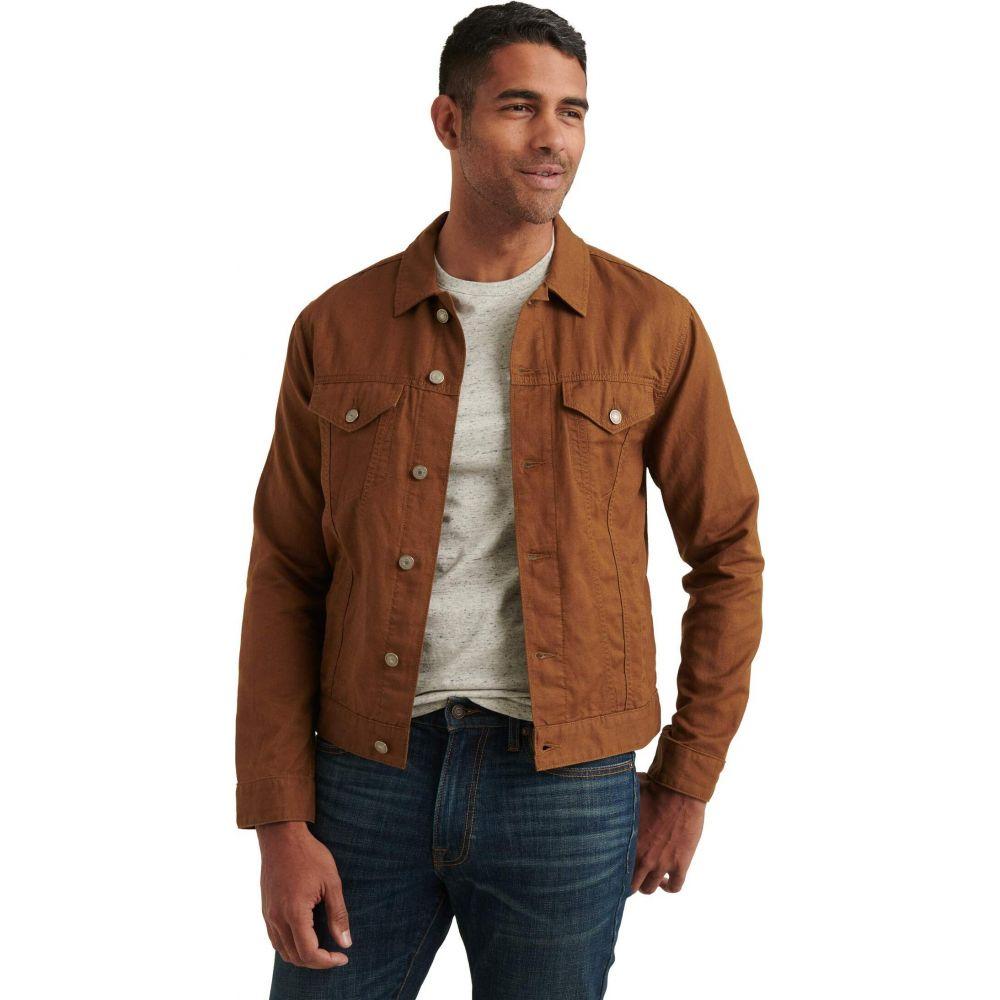 ラッキーブランド Lucky Brand メンズ ジャケット アウター【Linen Blend Trucker Jacket】Copper