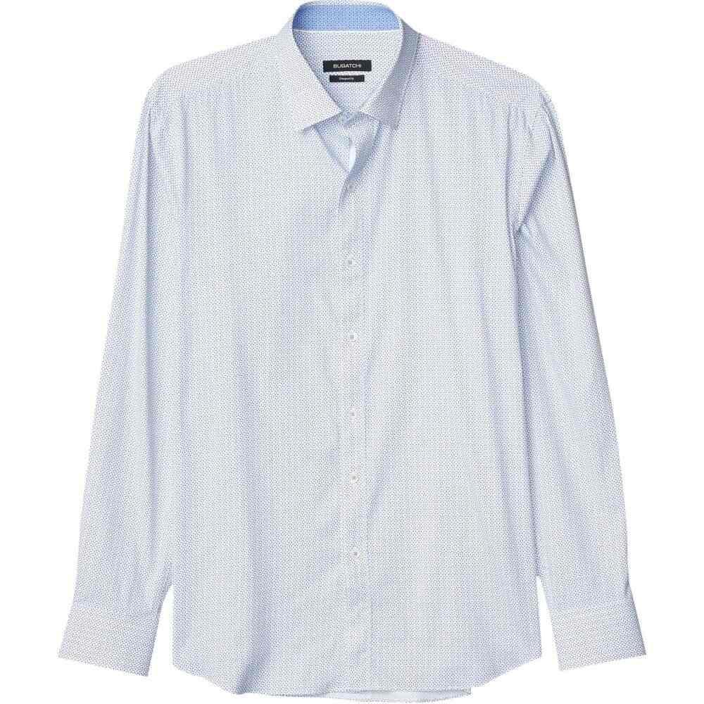 ブガッチ BUGATCHI メンズ シャツ トップス【Performance Arlo Shaped Fit Shirt】Classic Blue