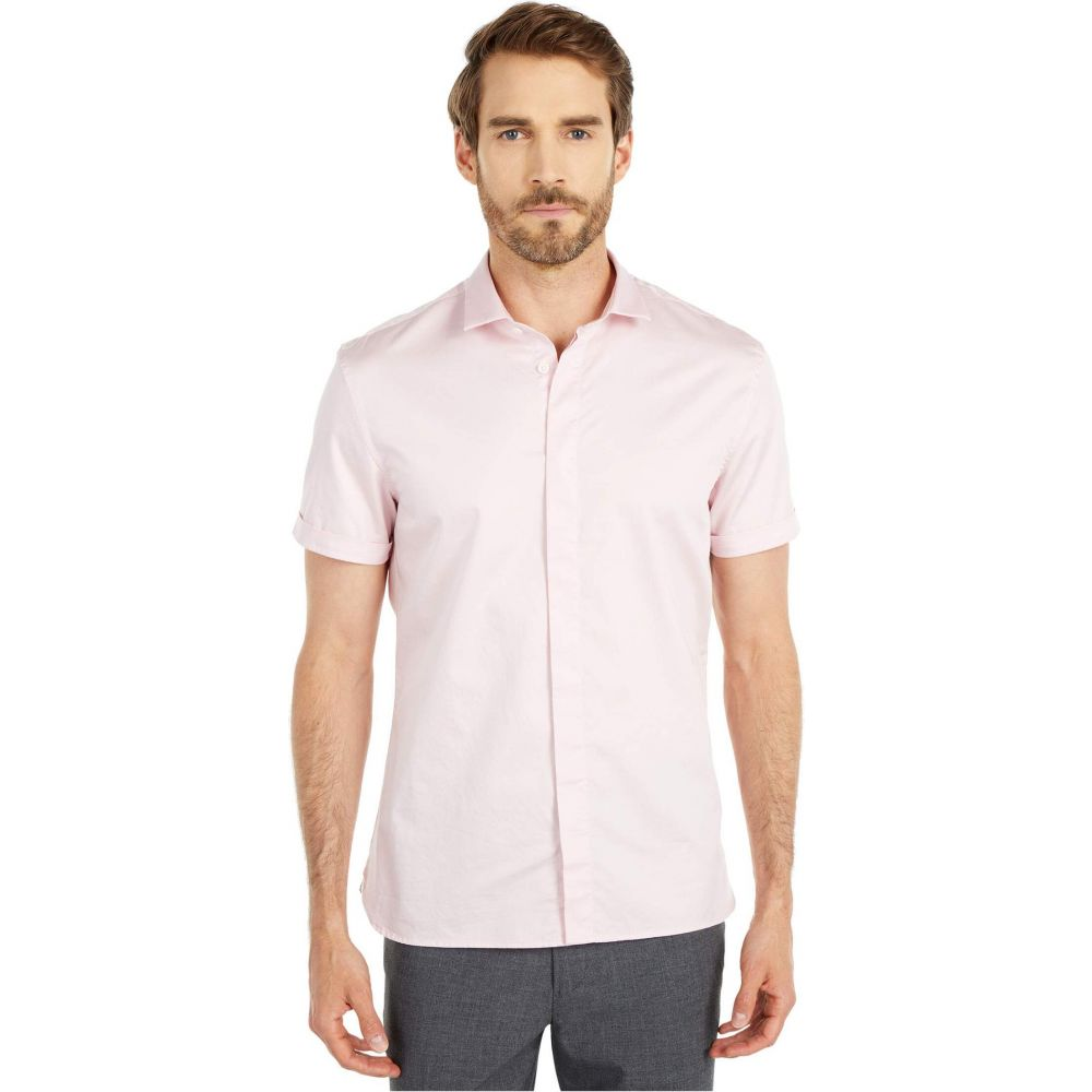 ジョン バルベイトス John Varvatos Star U.S.A. メンズ シャツ トップス【Loren Slim Fit Sport Shirt W690W1B】Pink Haze