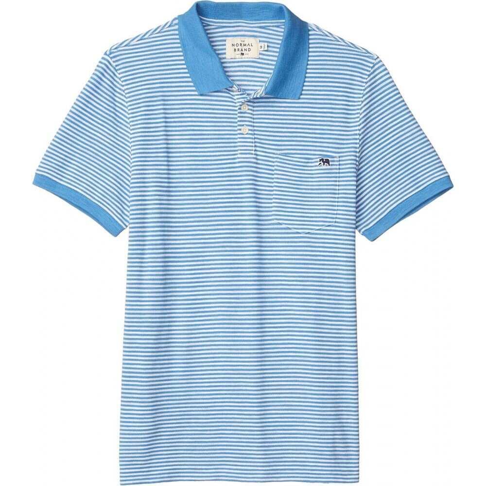ノーマルブランド The Normal Brand メンズ ポロシャツ トップス【Stretch Pique Polo】Pacific Coast