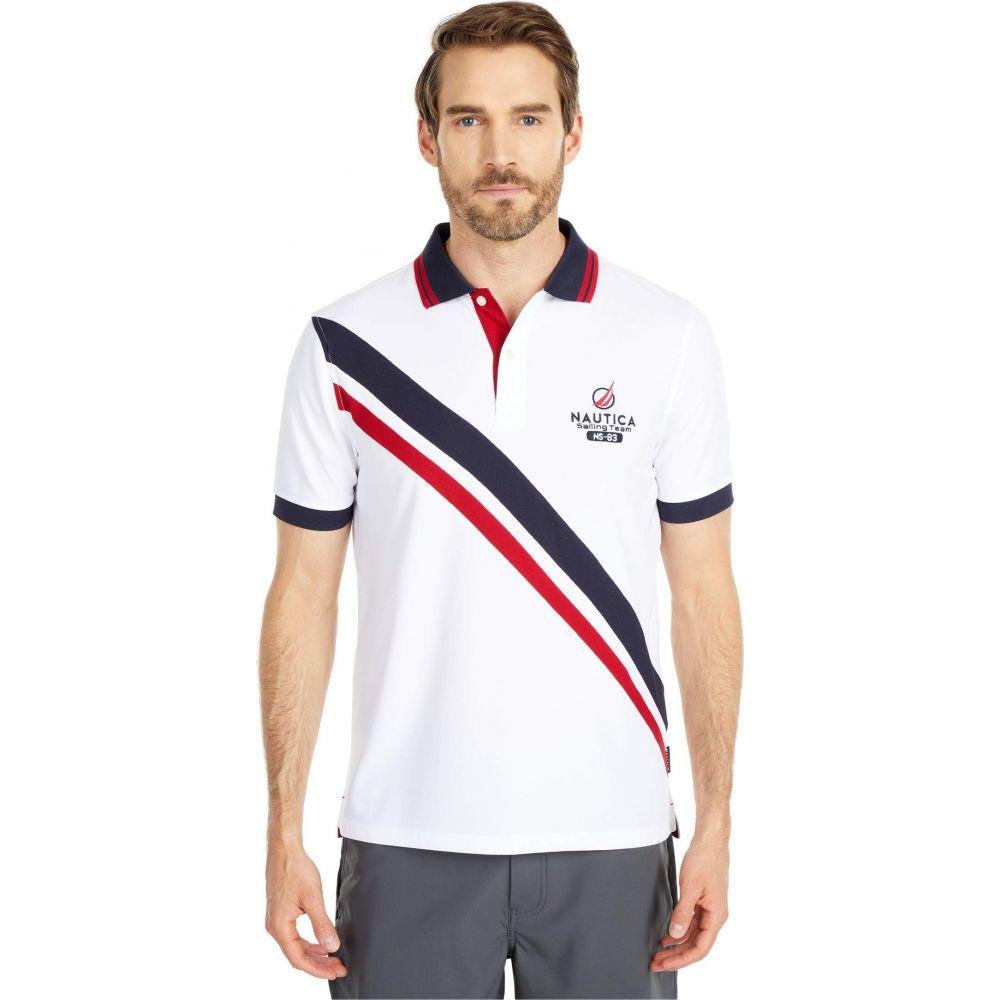 ノーティカ Nautica メンズ ポロシャツ トップス【Navtech Polo】White