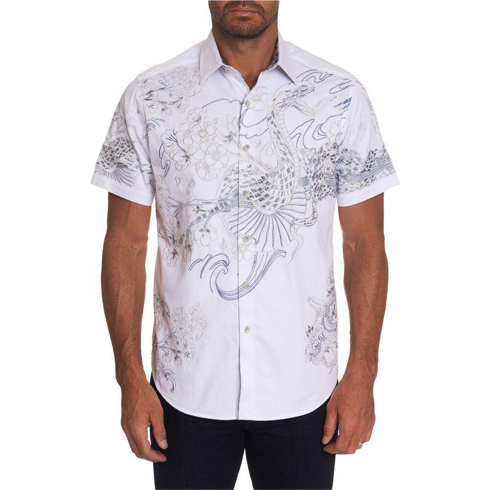 ロバートグラハム Robert Graham メンズ シャツ トップス【Viper Button-Up Shirt】White