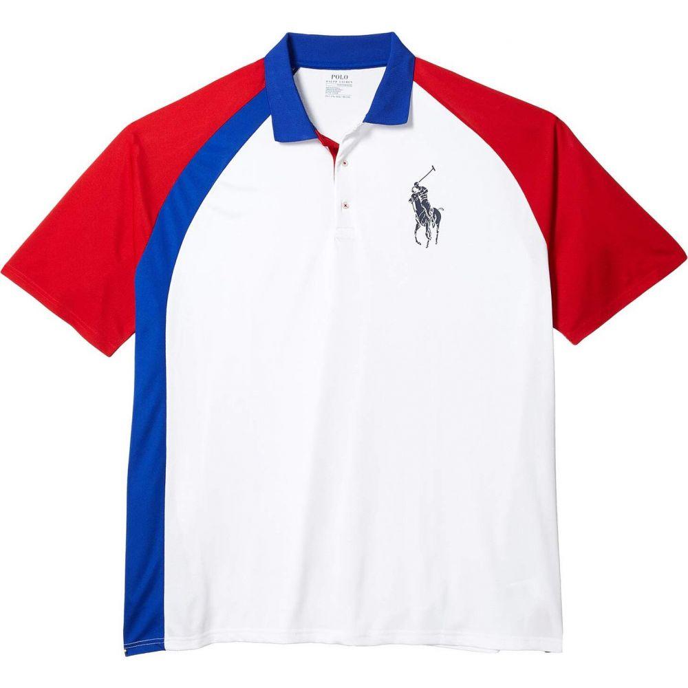 ラルフ ローレン Polo Ralph Lauren Big & Tall メンズ ポロシャツ 大きいサイズ トップス【Big & Tall Active Pique Polo】Pure White Multi