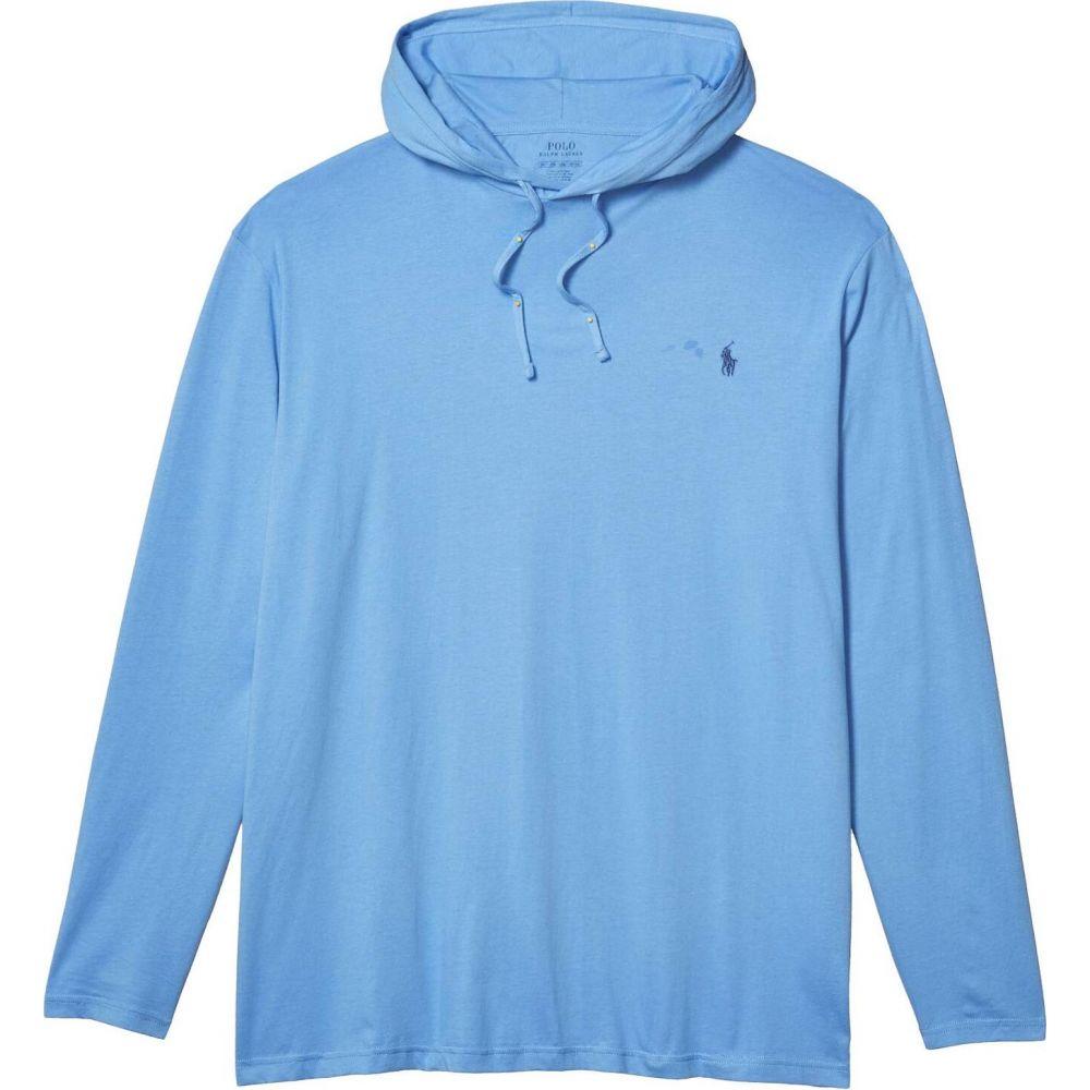 ラルフ ローレン Polo Ralph Lauren Big & Tall メンズ パーカー 大きいサイズ トップス【Big & Tall Cotton Jersey Hooded T-Shirt】Cabana Blue/C
