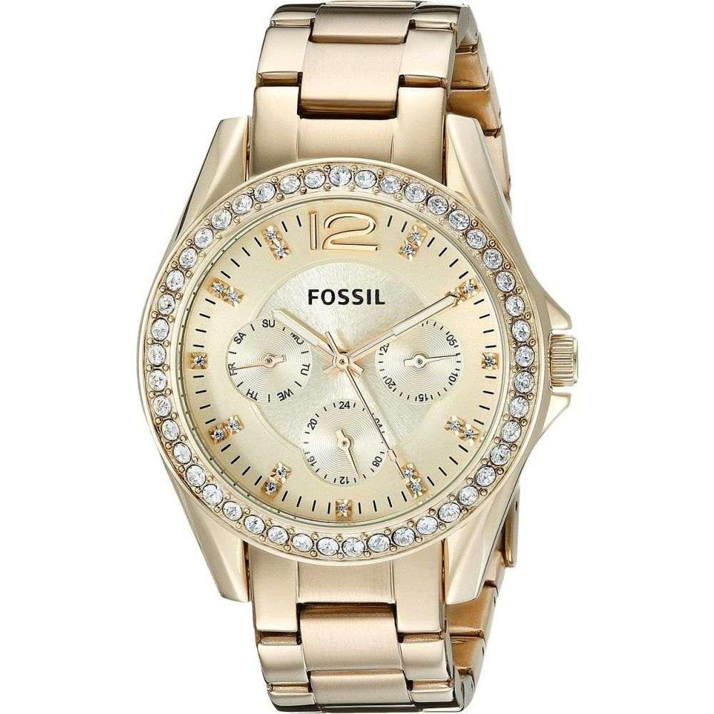 フォッシル Fossil レディース 腕時計 【Riley Multi-function Watch】ES3203 Gold Stainless Steel