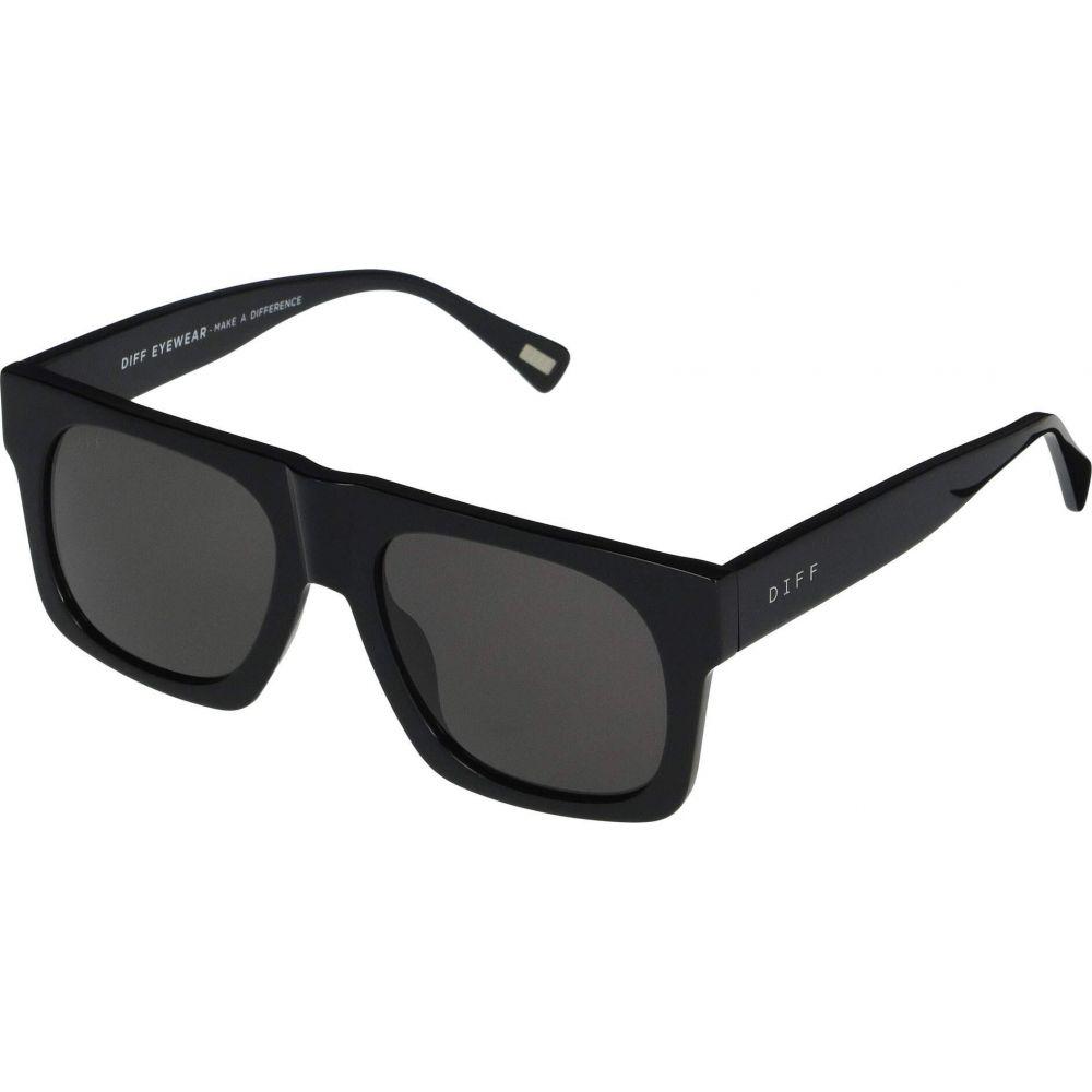 ディフアイウェア DIFF Eyewear レディース メガネ・サングラス 【Duke】Black/Grey