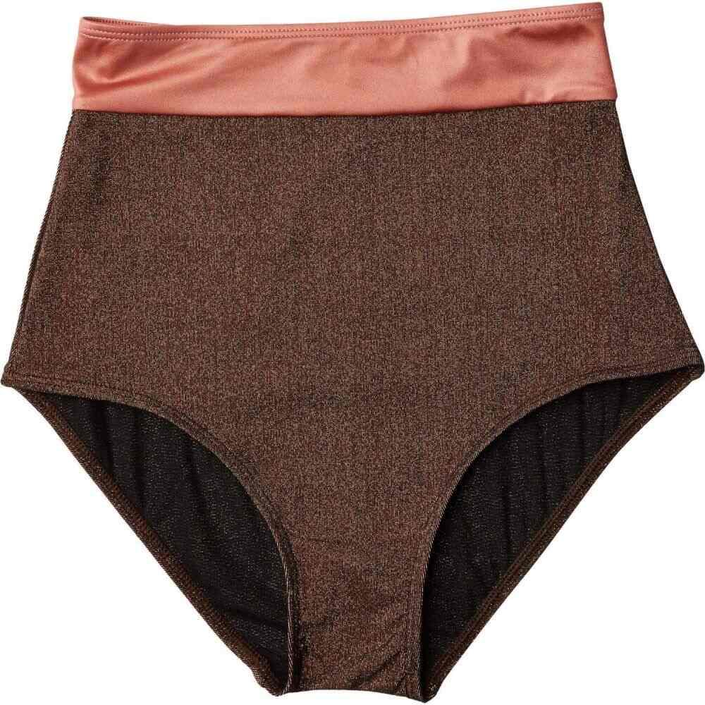 フラッグポール FLAGPOLE レディース ボトムのみ 水着・ビーチウェア【Arden Bottoms】Bronze/Rose Gold