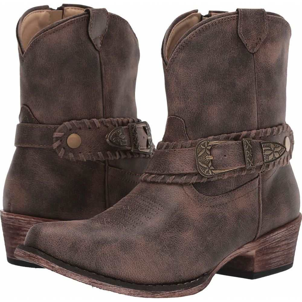 ローパー Roper レディース ブーツ シューズ・靴【Nelly】Vintage Brown Faux Leather