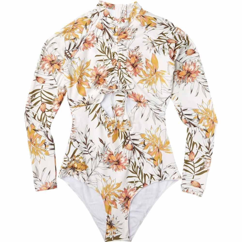 リップカール Rip Curl レディース ワンピース 水着・ビーチウェア【Playa Blanca S/Suit】White