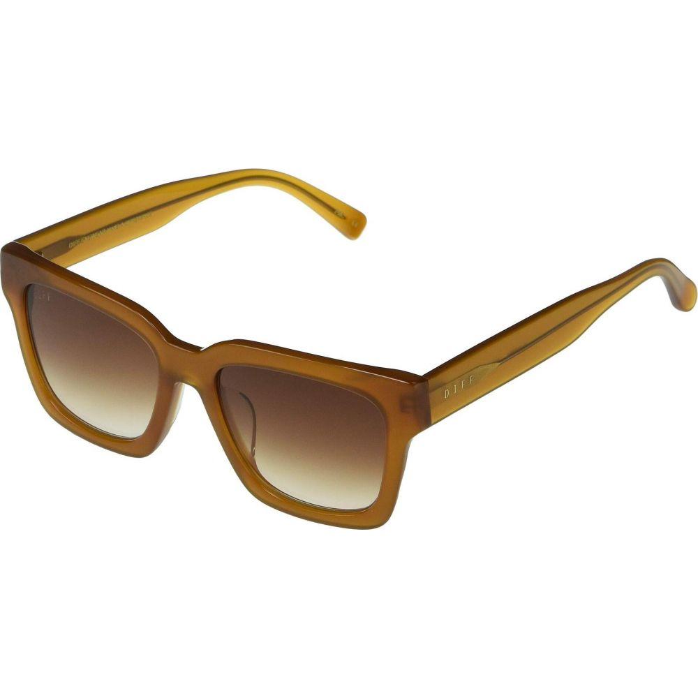 ディフアイウェア DIFF Eyewear レディース メガネ・サングラス 【Austen】Dark Ginger/Brown