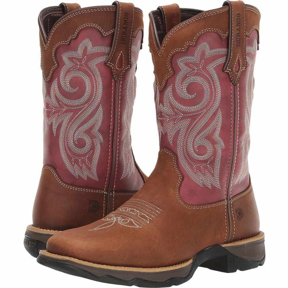 デュランゴ Durango レディース ブーツ シューズ・靴【Lady Rebel 10' Western】Briar Brown/Rusty Red
