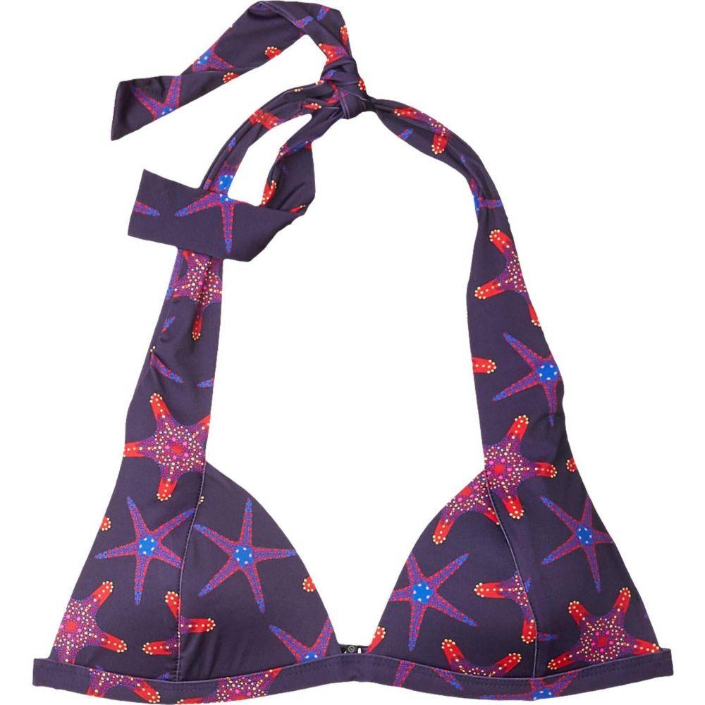 ヴィルブレクイン Vilebrequin レディース トップのみ 水着・ビーチウェア【Loli Starfish Dance Bikini Top】Sapphire