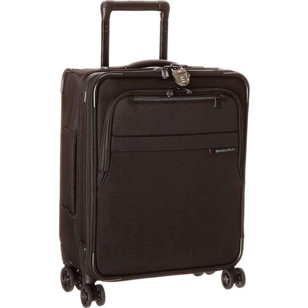 ブリッグスアンドライリー Briggs & Riley レディース スーツケース・キャリーバッグ バッグ【Baseline International Carry-On Expandable Wide-Body Spinner】Black